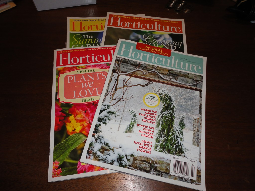 Picture of magazine covers.
