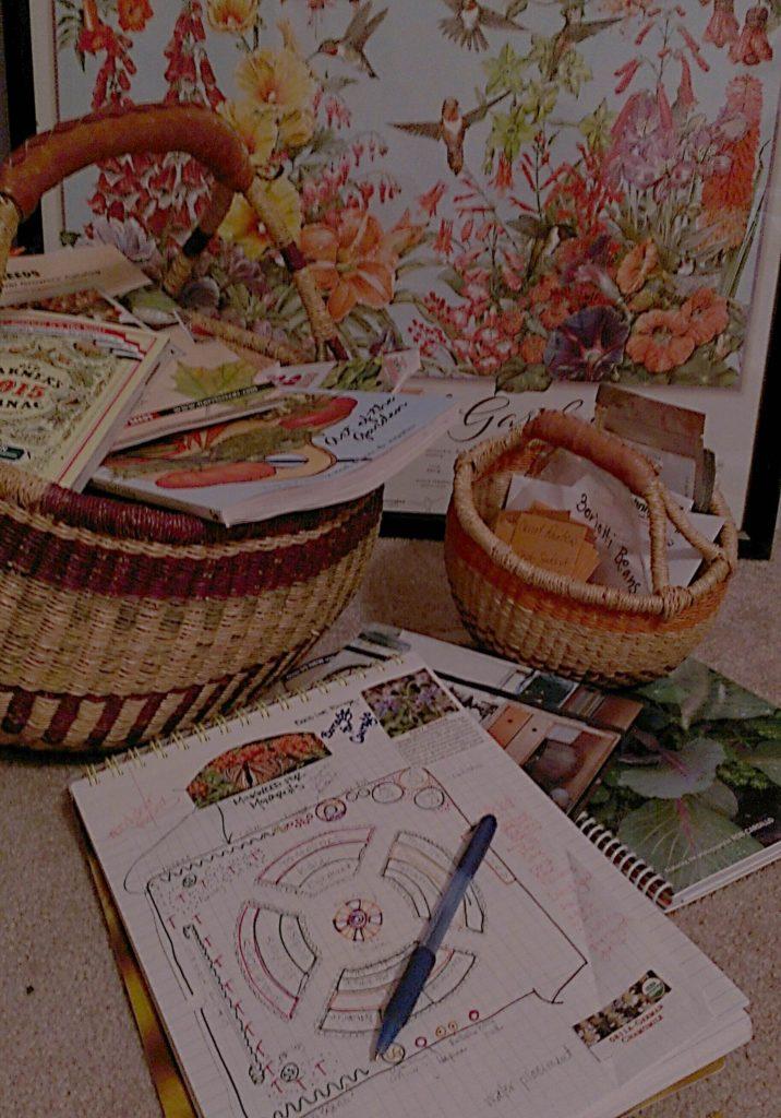 gardening books and journal