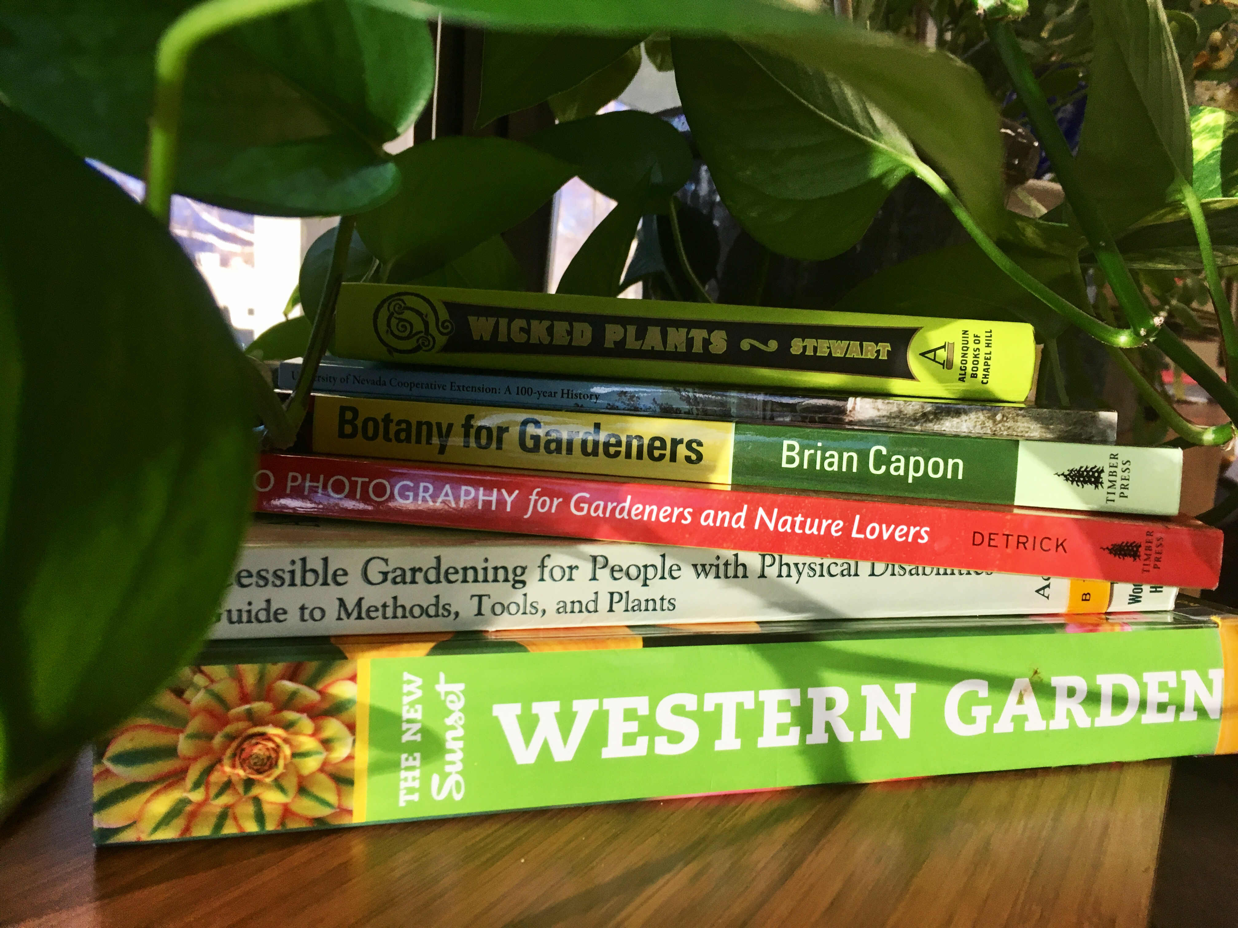 Winter Reading Grows Healthy Soils, Plants and Minds