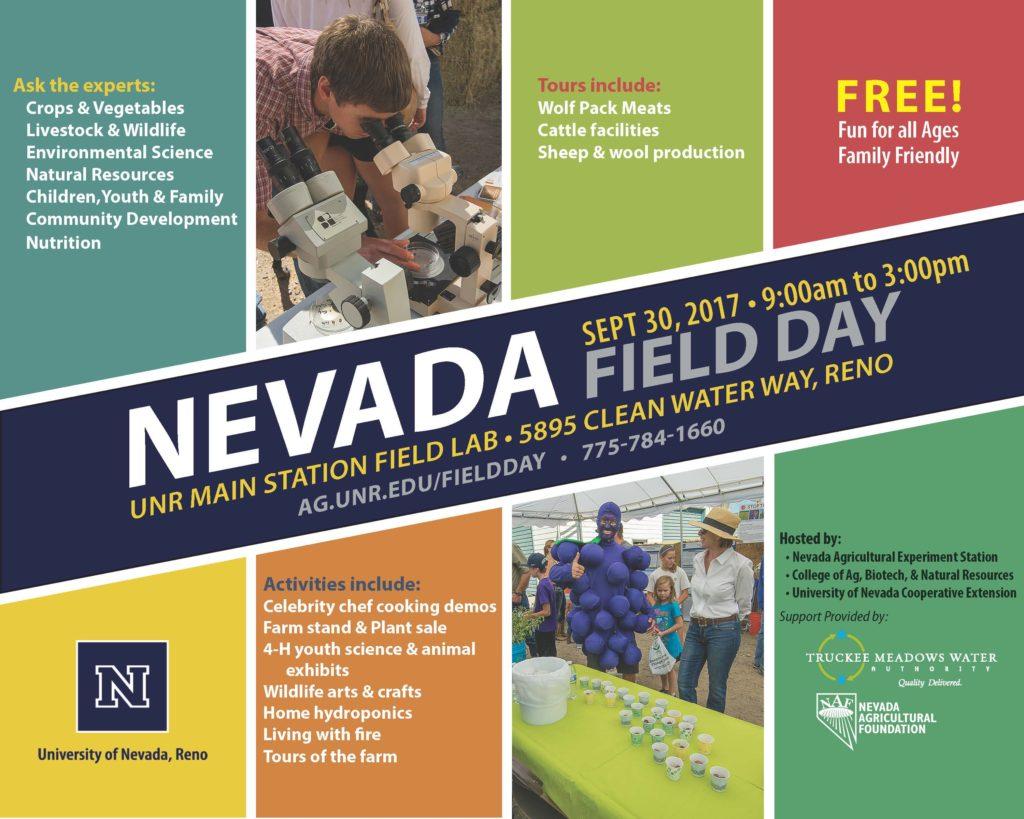 Field Day flyer.