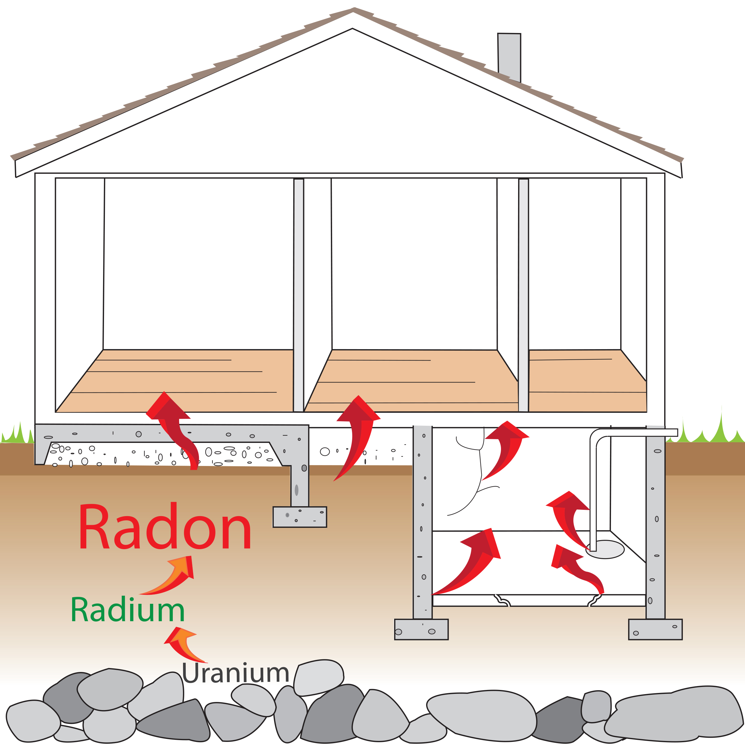 Ring in the New Year with lower radon levels